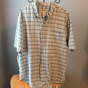 Eddie Bauer Tall XL short sleeve shirt